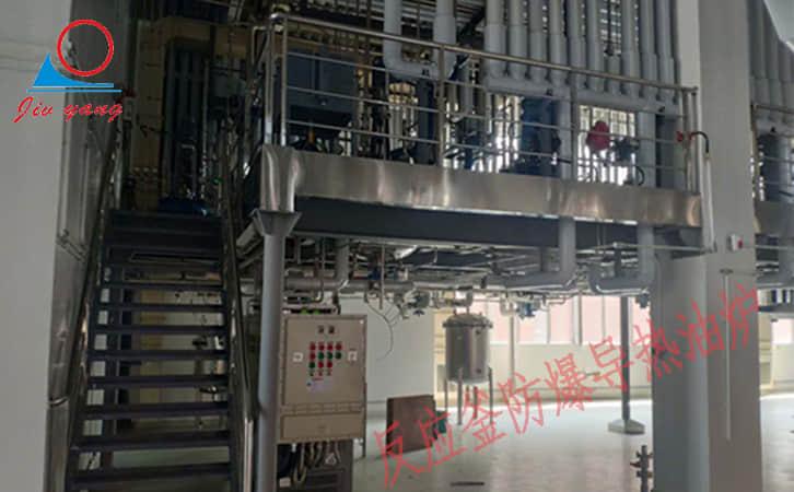 防爆电加热导热油炉反应釜控温案例