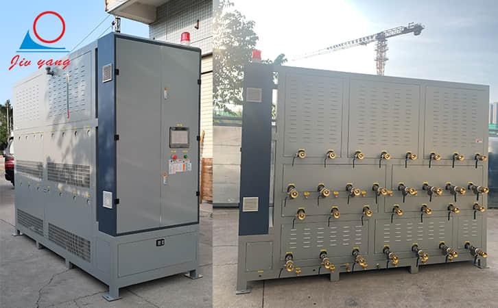 塑料薄膜专用模温机_15机一体油温机应用案例
