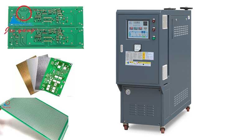 油式模温机在PVC基材覆铜板层压板领域中的应用