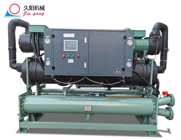 200匹螺杆冷水机_工业双螺杆式冷水机