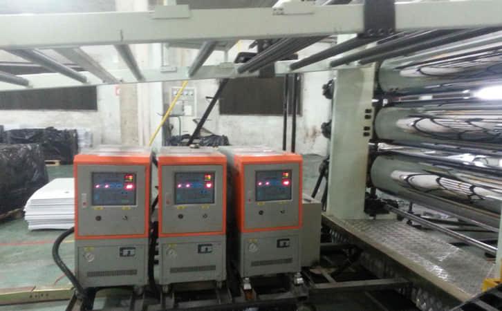 油温机在PVC压延辊筒生产中的应用