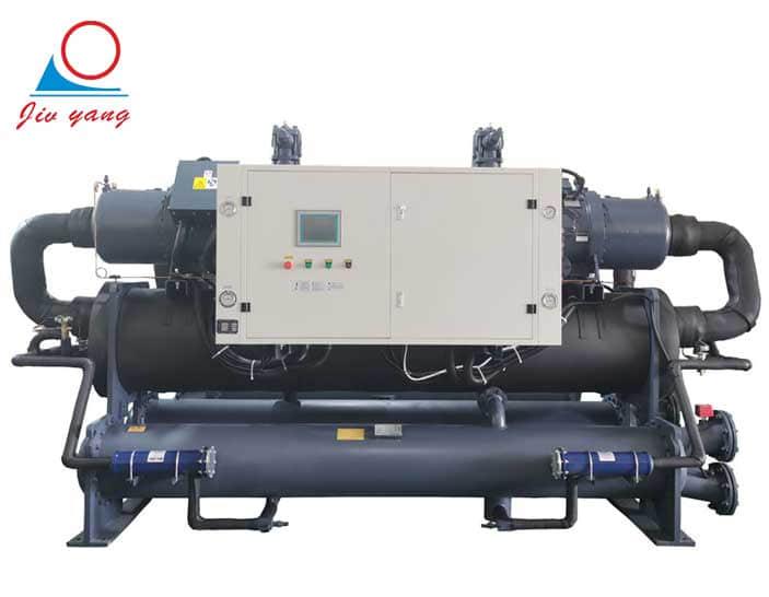 360匹螺杆冷水机_大型工业冷水机