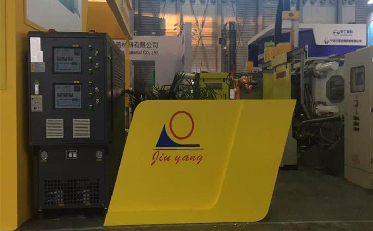 久阳机械携新温控设备双循环压铸
