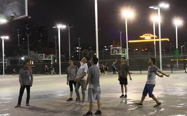 宝马友谊篮球赛