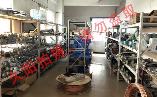 宝马娱乐bm777线路中小型模温机配件仓库