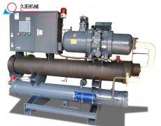 宝马螺杆式冷水机运行时冷却水温差只有2度是什么原因?
