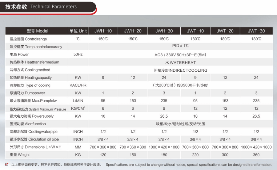 150度非标水温机_模具水温机技术参数