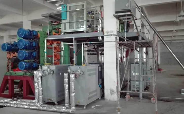 PVC压延油加热器_油加热器案例