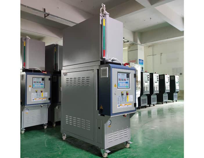 油循环温度控制机_导热油循环电加热器